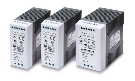 Artesyn Announces New Cost-Effective, Long Life DIN Rail Power Supplies for Industrial Applications