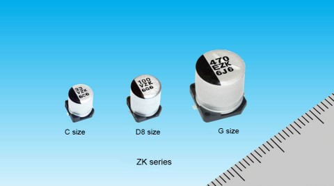Conductive Polymer Hybrid Aluminum Electrolytic Capacitors (Photo-Business Wire)