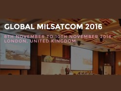 UK MoD to provide an opening ministerial address and a host nation address with  an update on UK MoD Strategic SatCom at Global MilSatCom 2016