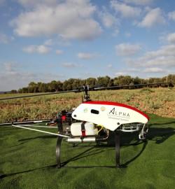 SNIPER unmanned helicopter completes ATP for agricultural deployment