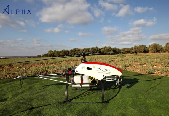 SNIPER unmanned helicopter completes ATP for agricultural deployment
