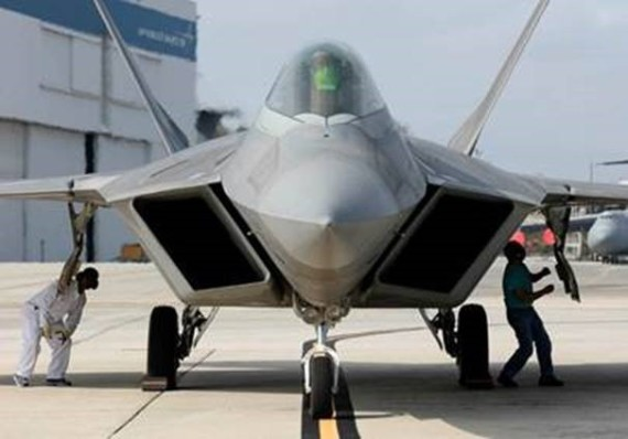 First F-22 Raptor Delivered from Lockheed Martin Speedline