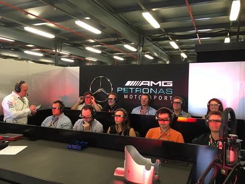 BT-300 Mercedes AMG Petronas F1