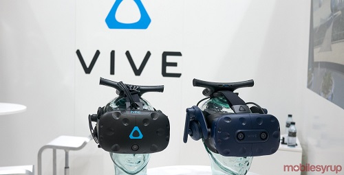 Vive vs Vive Pro both with wireless adaptor
