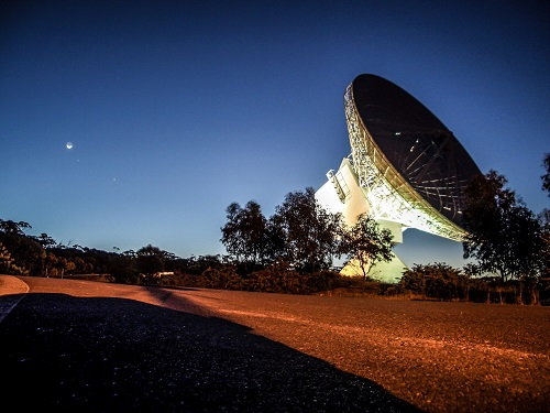 The ESA tracking station