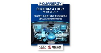 Quanergy and Chery