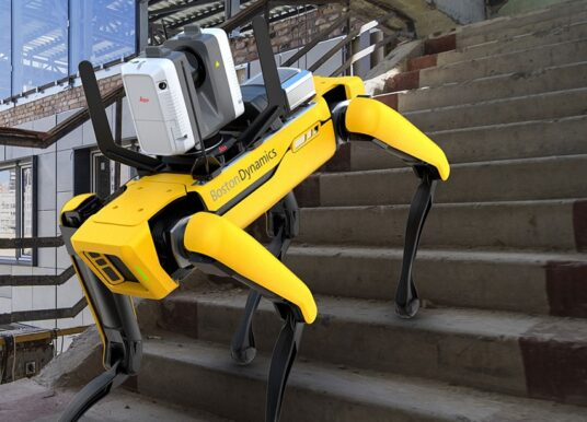 Leica Geosystems Offers Mobile, Agile 3D Reality Capture Solution for Boston Dynamics Spot